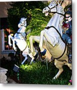 Hold On To The Reins Metal Print