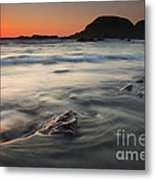 Holding Back The Sea Metal Print