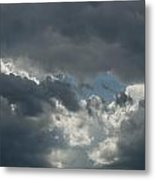 Hole In The Clouds Metal Print
