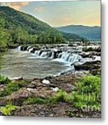 Hole In The New River Metal Print