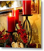 Holiday Candles Hcp Metal Print