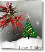 Holiday Card 2011a Metal Print