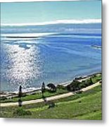 Holiday Horizon Metal Print