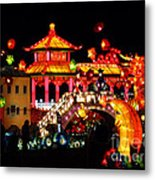 Holiday Lights 9 Metal Print
