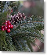 Holiday Season Metal Print