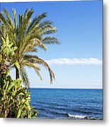 Holidays By The Sea Metal Print