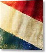 Holland Flag Metal Print