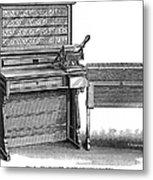 Hollerith Tabulator, 1890 Metal Print