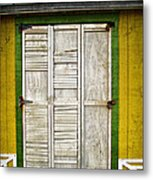 Holliwood Beach Door Metal Print