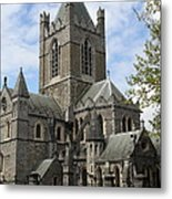 Holy Trinity Cathedral Dublin Metal Print