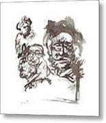 Homage To Rembrandt Metal Print