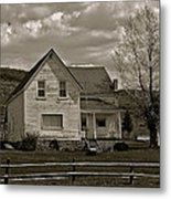 Home For The Cowboy Metal Print