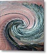 Home Planet - Northern Vortex Metal Print