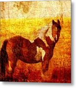 Home Series - Strength And Grace Metal Print