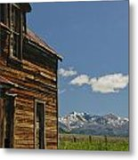 Homestead View Of The Crazy's Metal Print