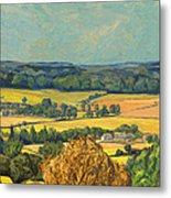 Hommage To Vincent Van Gogh - Zuid Limburg Metal Print