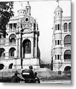 Hong Kong - Monument To Queen Victoria - C 1906 Metal Print