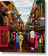 Hong Kong Metal Print by Tracy Dennison