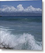Honokohau Aloalo Aheahe D T Fleming Beach Maui Hawaii Metal Print