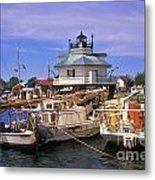 Hooper Strait Lighthouse - Fs000115 Metal Print
