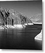 Hoover Dam Reservoir - Architecture On A Grand Scale Metal Print