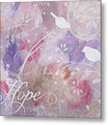 Hope Birds Metal Print