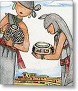 Hopi Manas I Metal Print