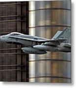 Hornet Buzzing Detroit Metal Print