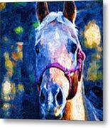 Horse Beautiful Metal Print