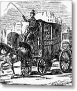 Horse Carriage, 1853 Metal Print