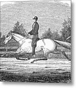 Horse Racing, 1851 Metal Print