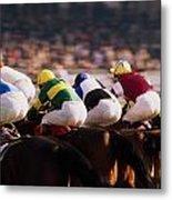 Horse Racing, Phoenix Park, Dublin Metal Print