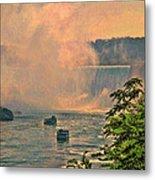 Horseshoe Falls Canadian Niagara Falls Metal Print