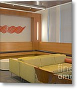 Hospital Waiting Room Metal Print