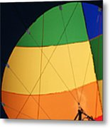 Hot Air Balloon Rigging Metal Print