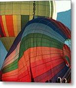 Hot Air Balloons In Albuquerque Metal Print