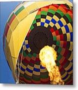 Hot Air Metal Print by Rick Berk