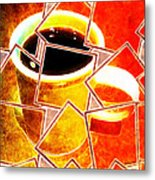 Hot Coffee 01 Metal Print