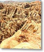 Badlands Of South Dakota Metal Print