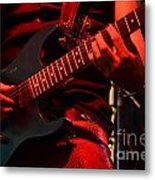 Hot Licks Metal Print by Bob Christopher
