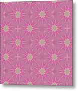 Hot Pink Metal Print