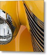 Hot Rod Chevy Metal Print by Steven Milner