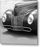 Hot Rod Front End Metal Print