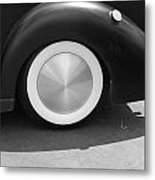 Hot Rod Wheel Metal Print