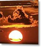Hot Sunrise 2 Metal Print