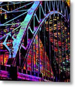 Hot Town Summer In The City Metal Print