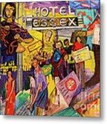 Hotel Essex  Metal Print