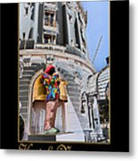 Hotel Negresco France Metal Print
