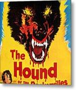 Hound Of The Baskervilles, Hammer Metal Print