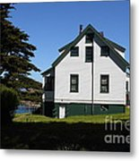 House At Point Reyes Calfornia . 7d16125 Metal Print